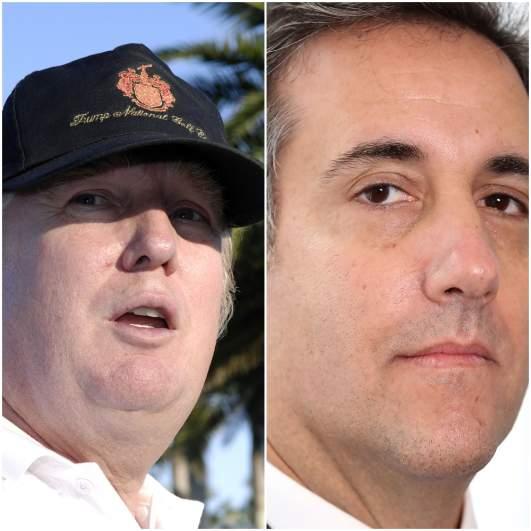 Donald Trump 2006, Michael Cohen, Michael Avenatti, Stormy Daniels
