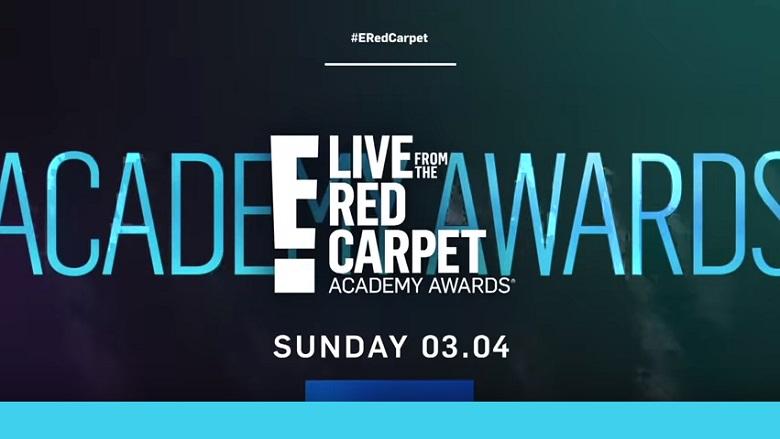 E! News Logo, E! Red Carpet, E! Red Carpet Oscars 2018