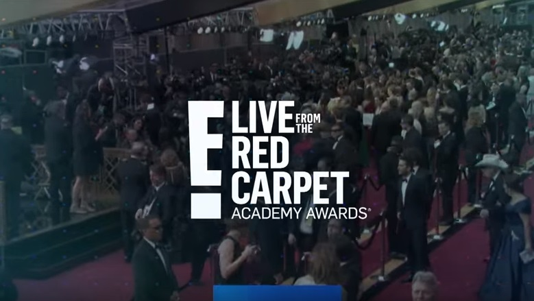 E Live Red Carpet, E Red Carpet Oscars 2018, E Red Carpet Logo