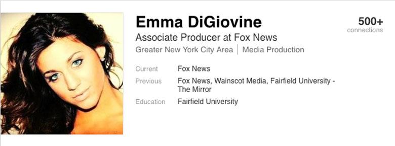 Emma DiGiovine LinkedIn Fox News