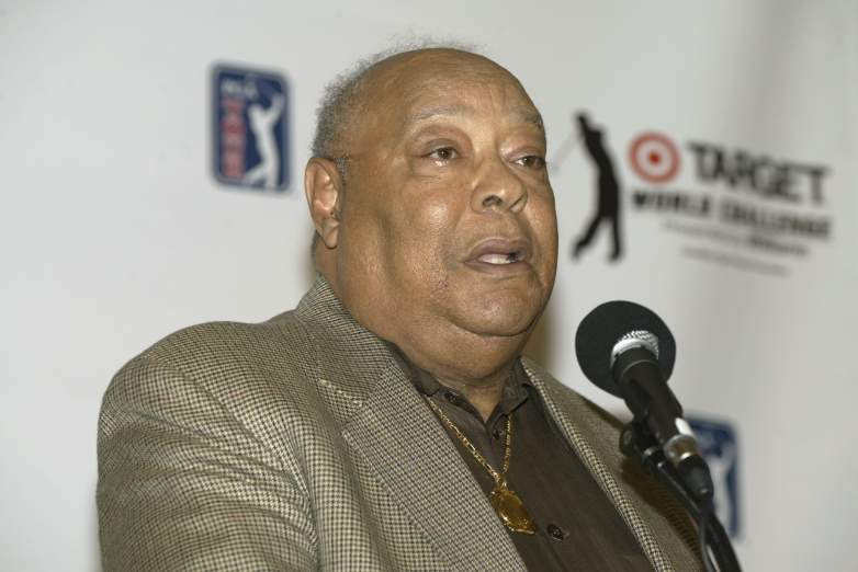 Tiger Woods' dad