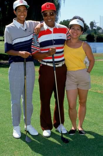 Tiger Woods' parents