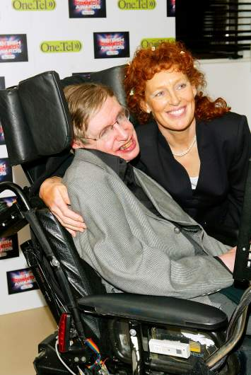 Stephen Hawking's wife