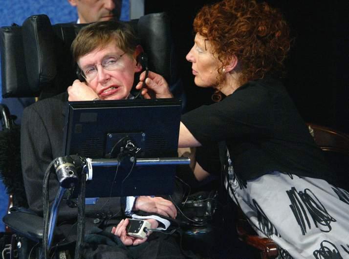 Stephen Hawking's wife
