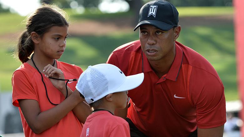Tiger Woods' kids