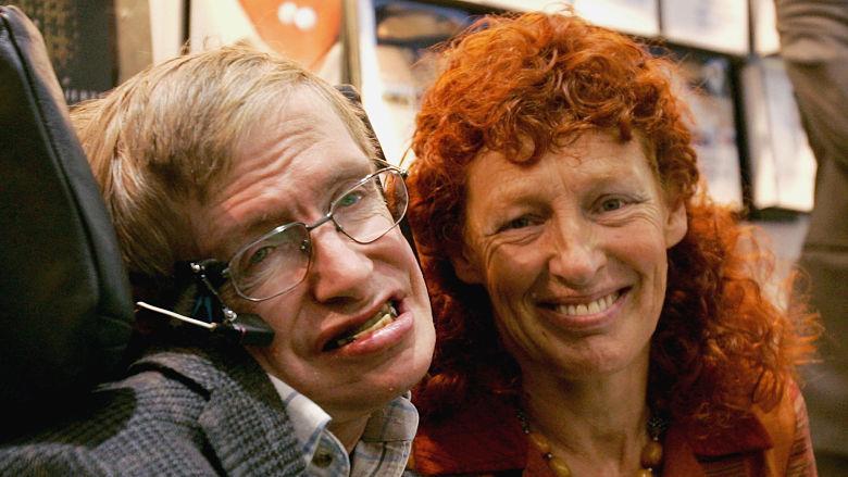 Stephen Hawking wife