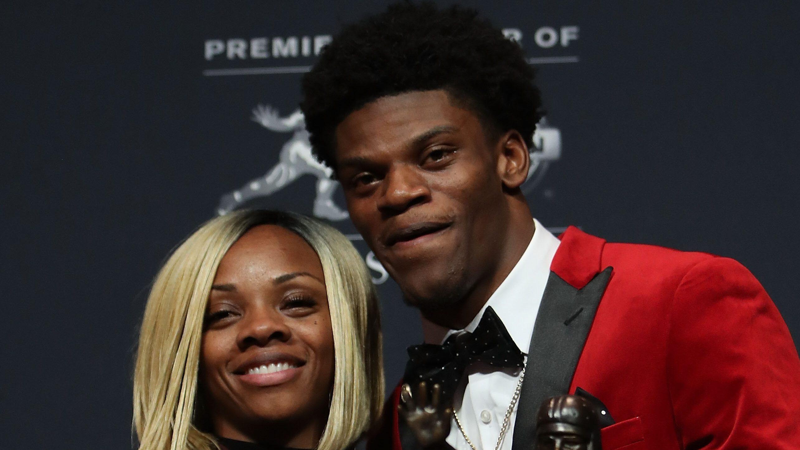 Lamar Jackson S Mom Dad Are Inspiration For Ravens Qb Heavy Com