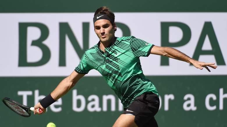 BNP Paribas Open 2018, Indian Wells Masters, Roger Federer