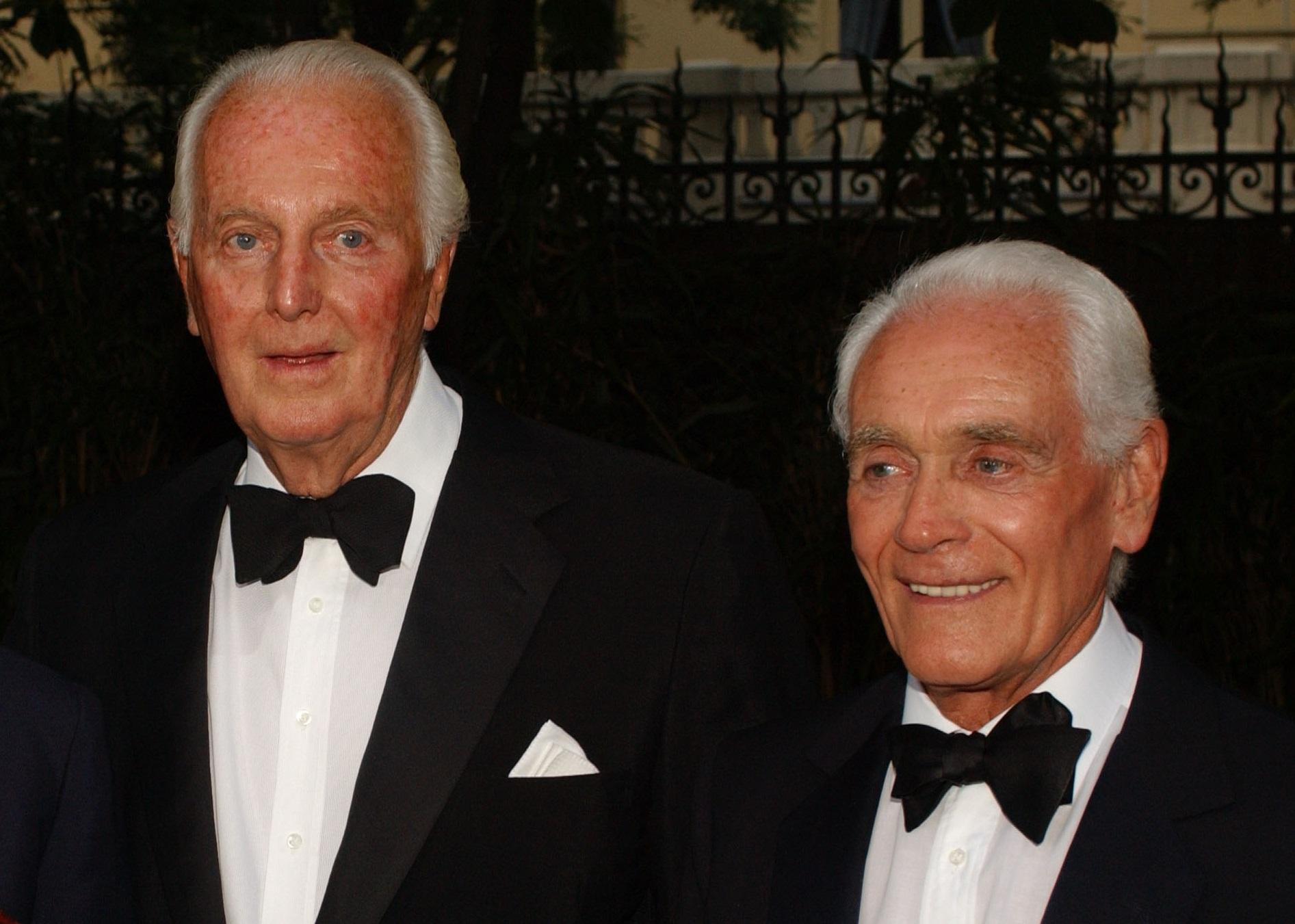 Philippe Venet, Philippe Venet Hubert de Givenchy, Hubert de Givenchy Partner