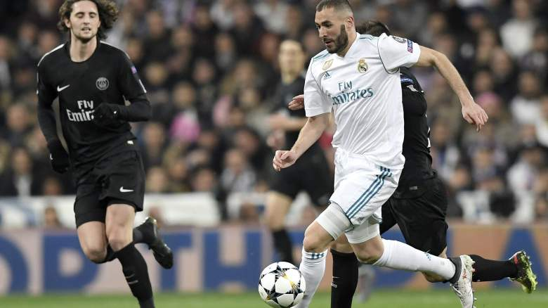 PSG vs Real Madrid, Champions League