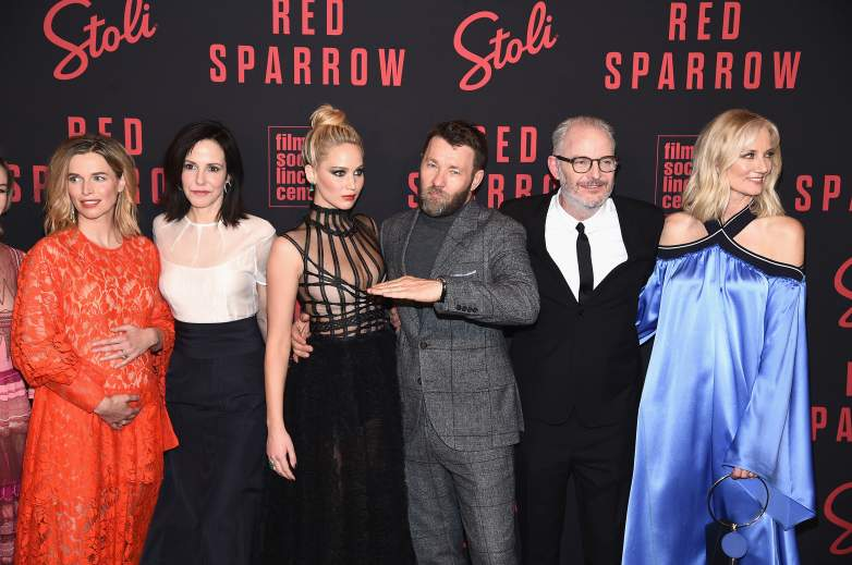 red sparrow cast, red sparrow, jennifer lawrence