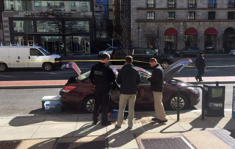Cameron Ross Burgess, White House shooting