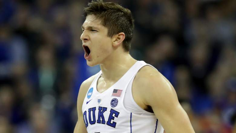 grayson allen, nba draft, mock draft
