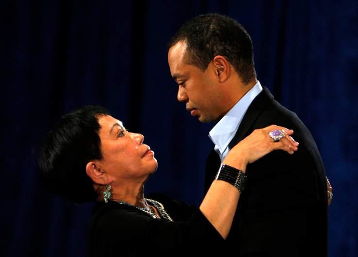 Tiger Woods' mom