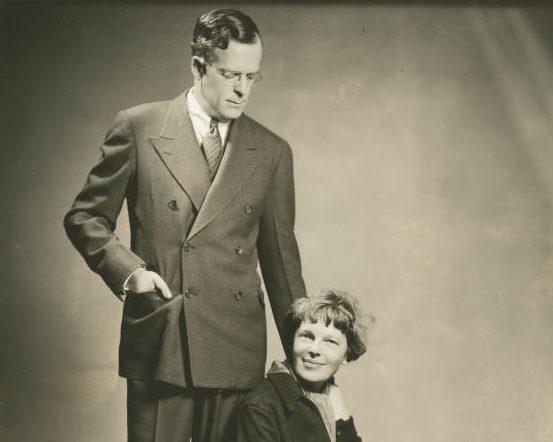 Amelia Earhart & George Putnam