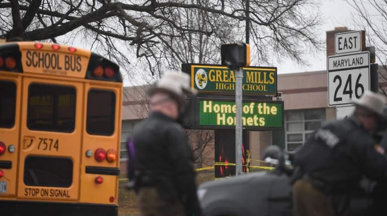 great mills high school shooting