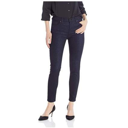 midrise ankle super skinny jeans