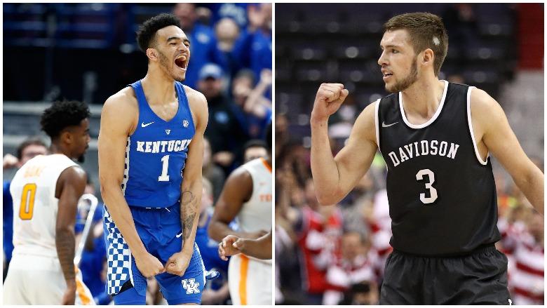 Kentucky vs. Davidson, Jon Axel Gudmundsson, Sacha Killeya-Jones