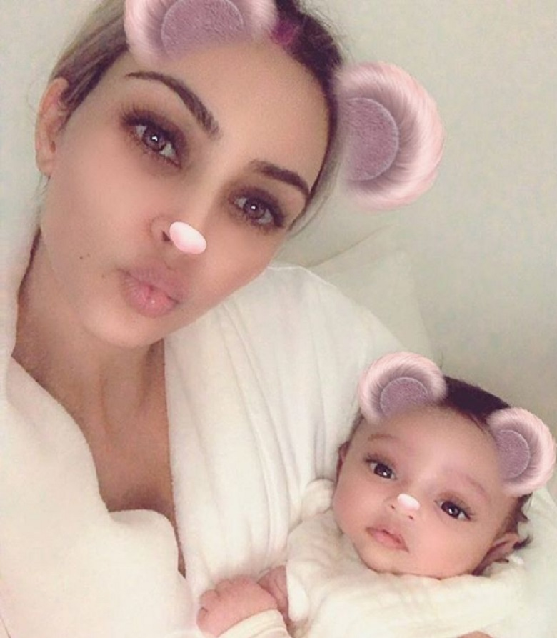 Chicago West Photo, Kim Kardashian Baby Photo, La'Reina Haynes, Kim Kardashian's Surrogate Picture