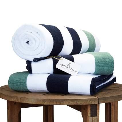 laguna beach textile company, large beach towel