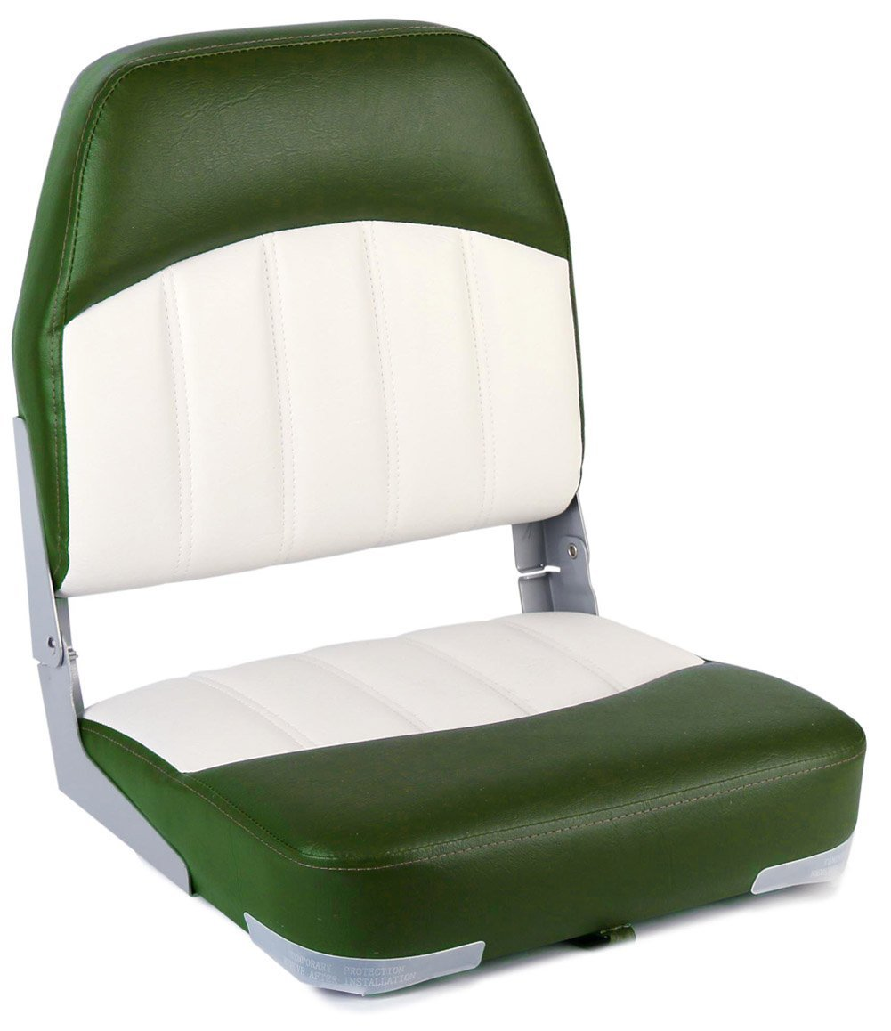 leader accessories, jon boat seat, boat seat, high back