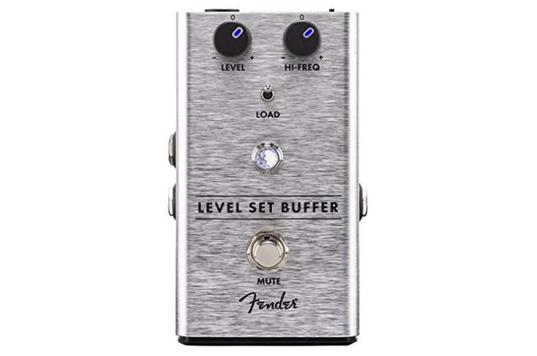 image of fender level set buffer pedal