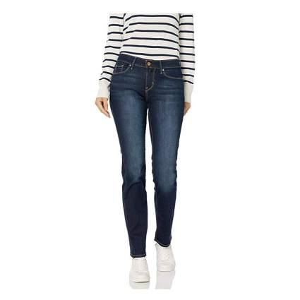 plus size mid rise straight leg jeans