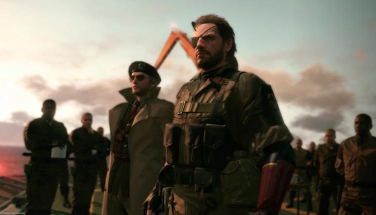 promotional image for metal gear solid v phantom pain