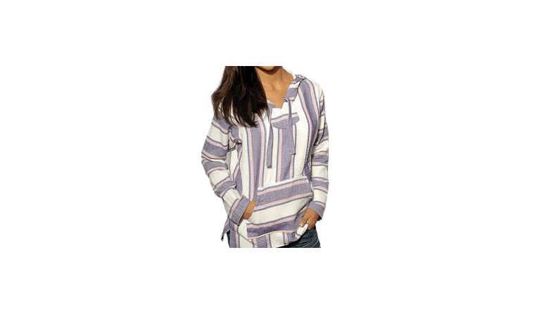 drug rug, baja pullover, festival hoodie, festival clothing