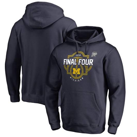 michigan 2018 final four gear sweatshirts