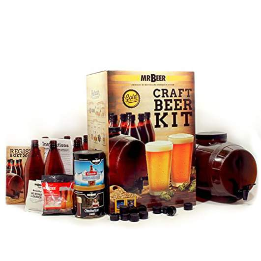 Mr. Beer Premium Gold Edition Beer Making Kit