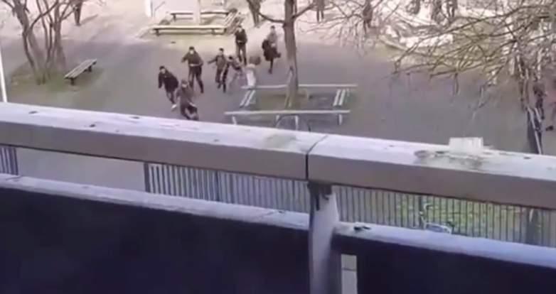 dutch knife attack backpacks video