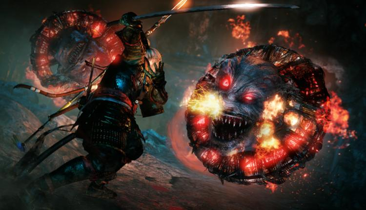 a promotional image of nioh gameplay