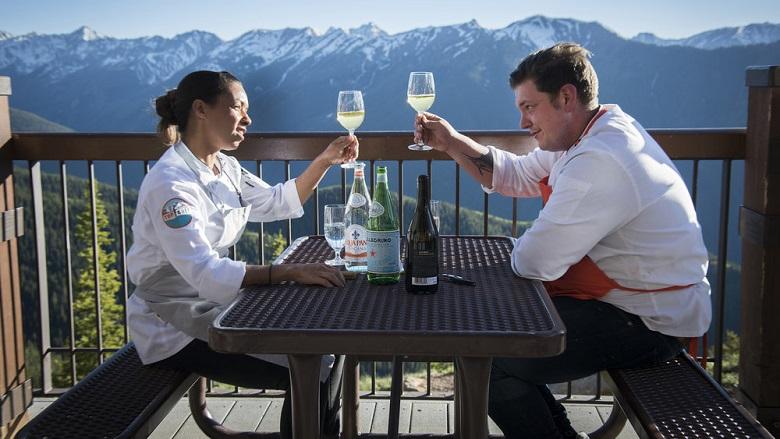 Adrienne Cheatham and Joseph Flamm, Top Chef Season 15 Last Chance Kitchen Winner, Joseph Top Chef 2018