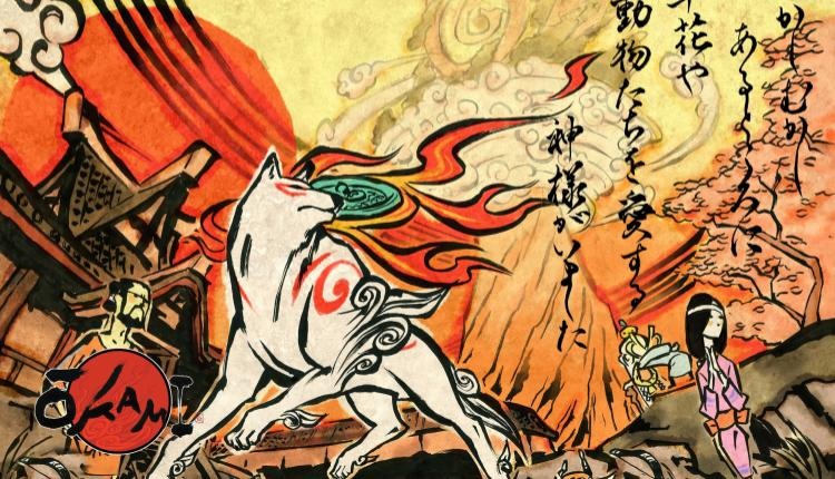 promotional image for okami
