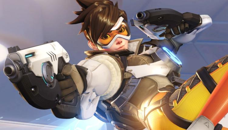 promotional image of tracer from overwatch