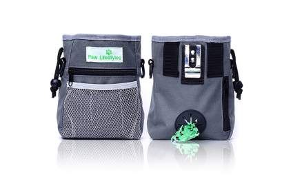Paw Lifestyles treat pouch camping with dogs