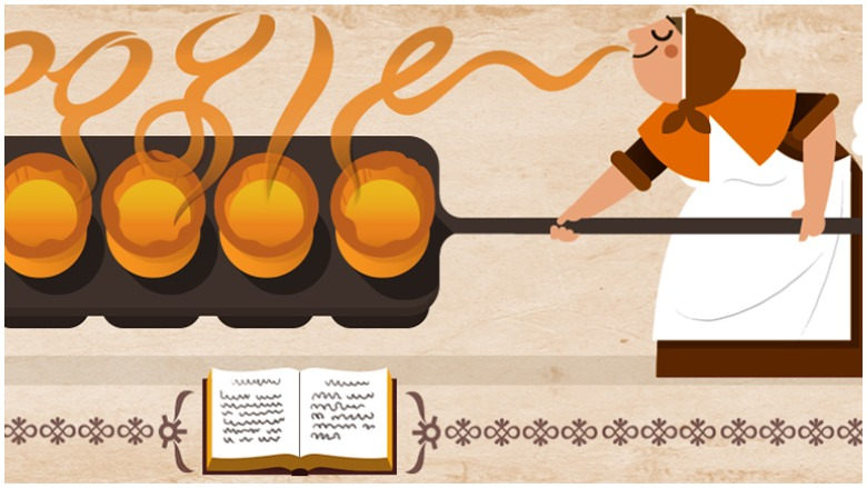 hannah glasse, google doodle
