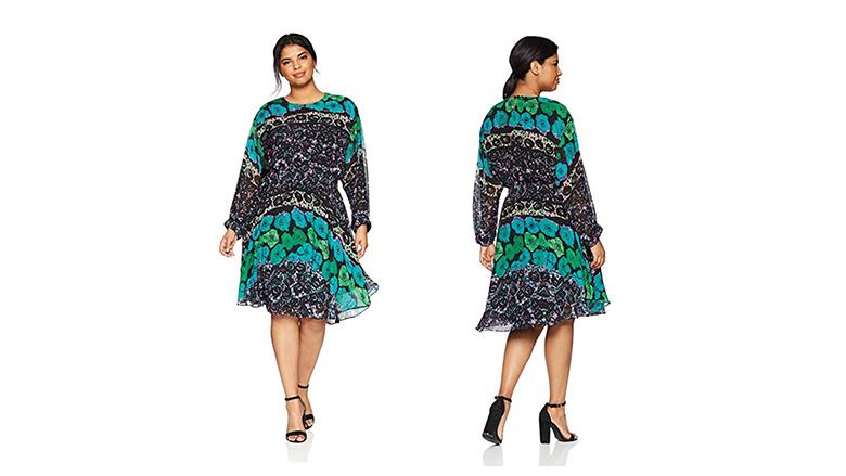 rachel roy dress, plus size floral dresses, plus size summer dresses, plus size floral print dress