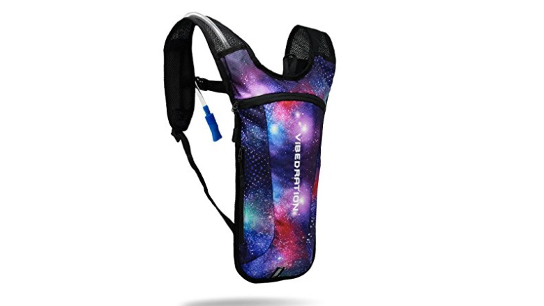 hydration back, vibedration pack, water bladder backpack