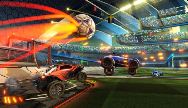 promotional image for rocket league