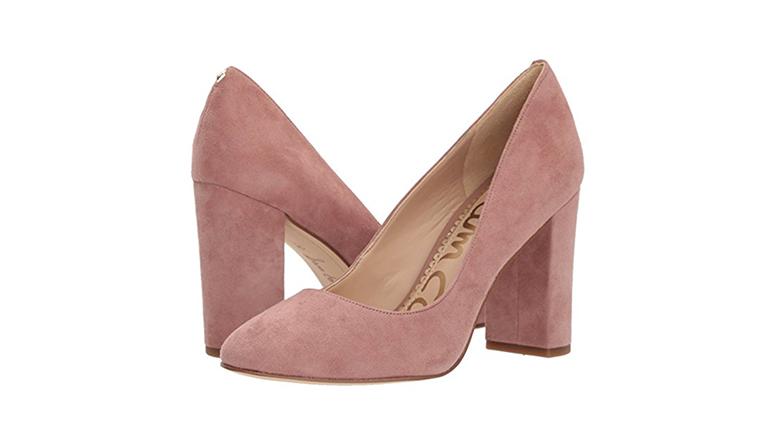 sam edelman heels, block heels, block heel shoes, block heel pumps