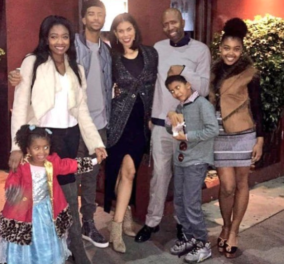 Kenny Smith wife, Kenny Smith family