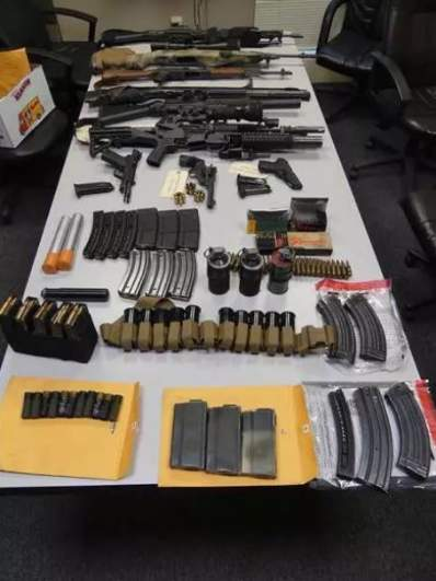 Francho Bradley weapons cache