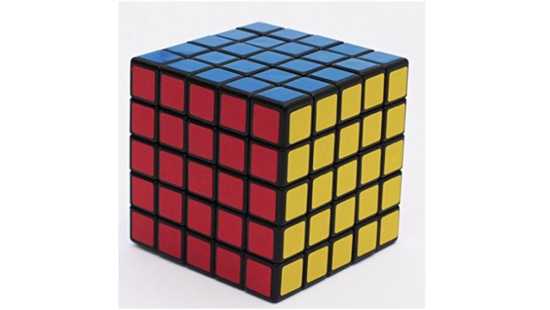 3d puzzle, rubik's cube, 5x5 rubik's cube