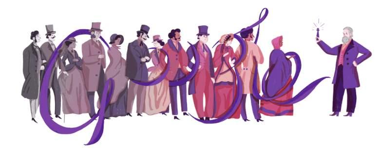 sir william henry perkin, william henry perkin, william henry perkin google doodle