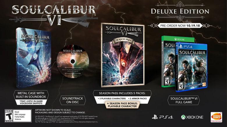 Soul Calibur 6 Deluxe Edition
