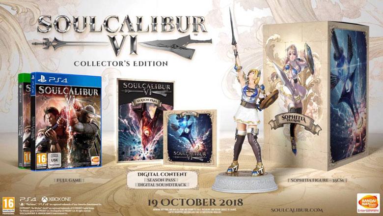 Soul Calibur 6 Collector's Edition