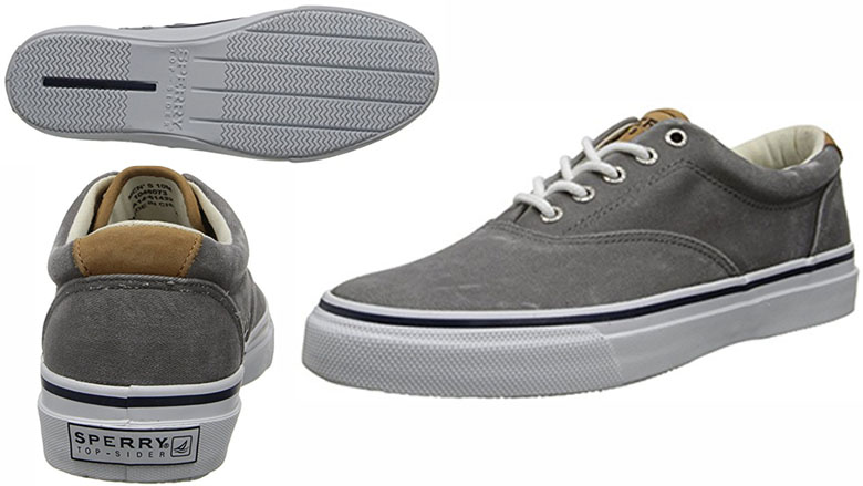sperry top-sider mens striper fashion sneaker
