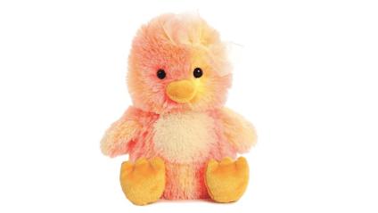 Orange chick stuffed animal